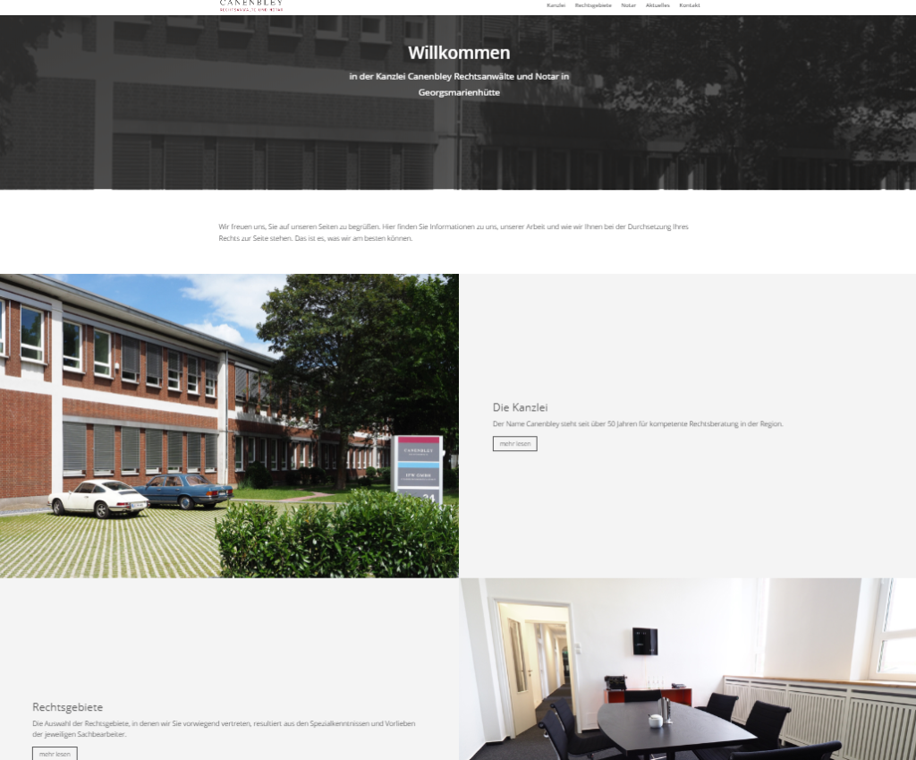 rae canenbley neue webseite